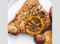 sea bass steaks with orange salsa  or tuna_image