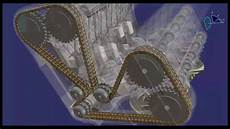 Distribution Par Chaine Moteur En V Catia V5