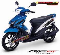 Mio Gt Modif by Modif Striping Dan Warna Mio Gt Versi New Striping 2014