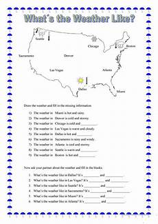 the weather lesson worksheets 14607 what s the weather like worksheet free esl printable worksheets made by teachers