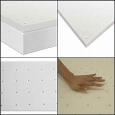 3 quot premium ventilated memory foam home mattress topper