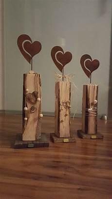 Holzdeko Herz Kreatives Aus Holz Holz Deko Holz Und