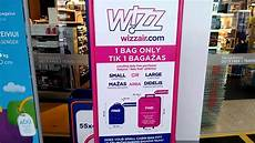 cabin baggage wizzair wizzair cabin baggage measuring cage