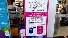 wizzair large cabin bag wizzair cabin baggage measuring cage