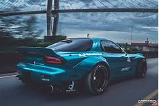 tuning mazda rx 7 widebody back
