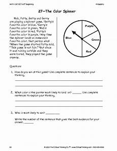 free thinking skills worksheets for grade 3 critical thinking worksheet grades 3 5 color game education world