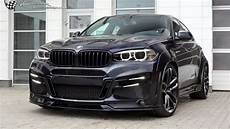 Black Power Bmw X6 M50d Tuning Car Diesel