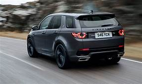 2018 Range Rover Evoque Land Discovery Sport