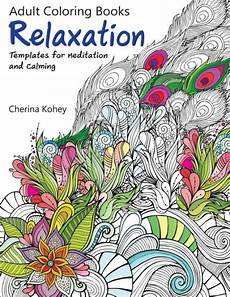 adult coloring book relaxation templates for meditation