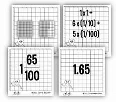 decimals base ten blocks worksheets 7074 decimals fractions connections with manipulatives and models fifthgradeflock