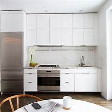 White Tile Backsplash Kitchen White Kitchen Cabinets The Backdrop For A Chic Decor