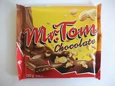 mr tom peanut chocolate bar