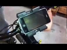 handyhalterung motorrad test iphone handy halterung f 252 r den fahrrad und motorrad