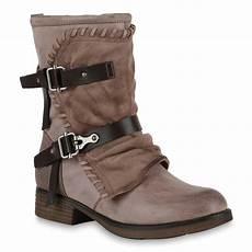893555 damen stiefel biker boots used look gef 252 tterte