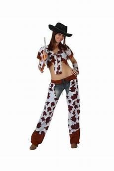 Costume Cow Boy Femme Fille De Vache Vente De