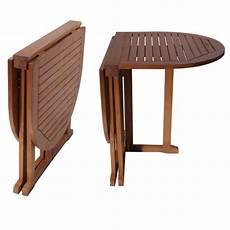 Gartentisch Klappbar Holz - gartentisch baltimore klappbar gartenm 246 bel oval