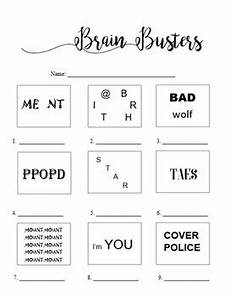 rebus puzzle worksheet with answers brain breaks rebus puzzle 2 worksheet with answers by bitsbybets