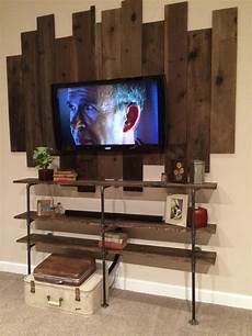diy iron pipe wood shelf zest it up