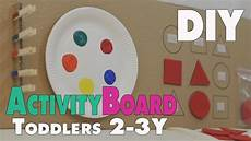 diy activity board ideen f 252 r kleinkinder ca 2 3