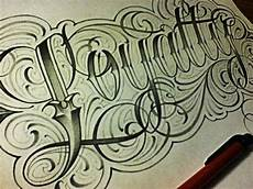 loyalty fancy cursive tattoo style letters youtube