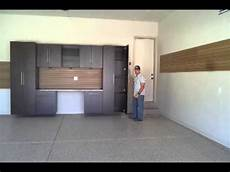 garage remodel garage cabinets epoxy flooring park city utah youtube