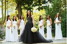this philly wore black to glam tendenza wedding
