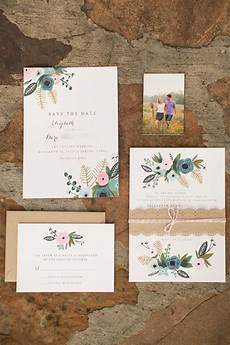 faire part mariage diy mrs wallaby painted invitation suite inspired by