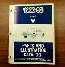 motor auto repair manual 1991 buick regal windshield wipe control 1988 1989 1990 1991 1992 buick regal parts illustration catalog manual ebay