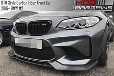 dtm style carbon fiber front lip for 2016 2018 bmw m2 f87 bmfs8705