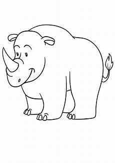 Bilder Zum Ausmalen Nashorn Ausmalbilder Nashorn 02 Ausmalbilder Tiere
