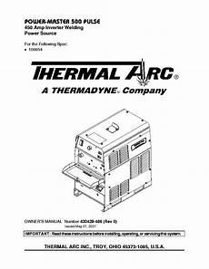 thermal arc 161 stl 201 ts inverter welder sm service manual free download schematics eeprom