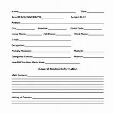 free 11 sle medical consultation forms in pdf ms word