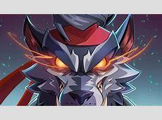 Download 1366x768 Fortnite, Dire Skin, Wolf, Artwork