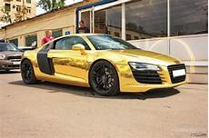Audi R8 Gold Wallpaper Hd Picture Highqualitycarpics