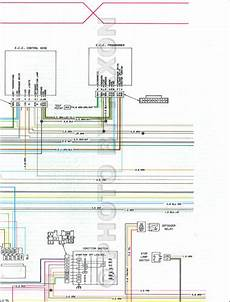 1979 Cadillac And Fleetwood Foldout Wiring