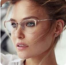 50 cool cute original alternative trend clear rimless glasses with gold frames spring summer