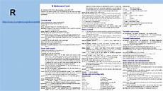 r http cran r project org doc contrib short refcard pdf