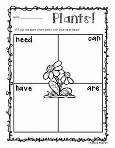 plant worksheets for 2nd grade 13739 freebie plant unit quot needs can are quot chart grade science plant science