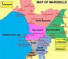 Map Of Marseille City Pictures
