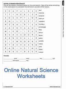 grade 5 online natural science worksheet skeleton for more worksheets visit e classroom