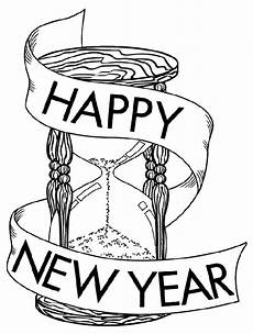 the site happy new year s coloring pages