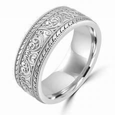 Wedding White Gold Bands
