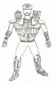 Malvorlagen Ironman Pdf Ironman War Machine Drawing By Kartikeya Mishra