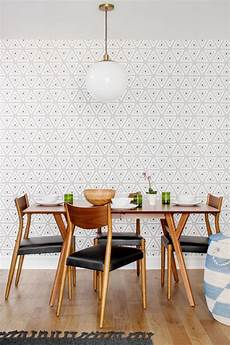 Geometric Wallpaper Dining Room 25 amazing dining rooms with wallpaper