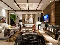 pretty brown and beige living room home decor