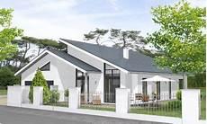 Bungalow Mit Pultdach Und Garage - massivhaus bungalow bungalow 162 bungalow haus und