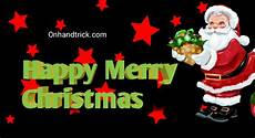 best happy christmas wishes message shayari greeting card onhandtrick
