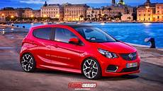 New Opel Karl Puts On A Opc Kit Carscoops