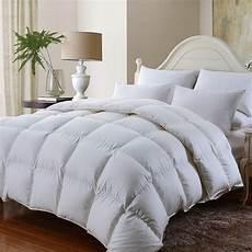 couette de luxe en duvet d oie sibrien king of cotton