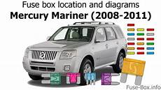 fuse box for mercury fuse box location and diagrams mercury mariner 2008 2011